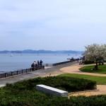 江の島の観光スポットや飲食店へのアクセスが便利な北緑地
